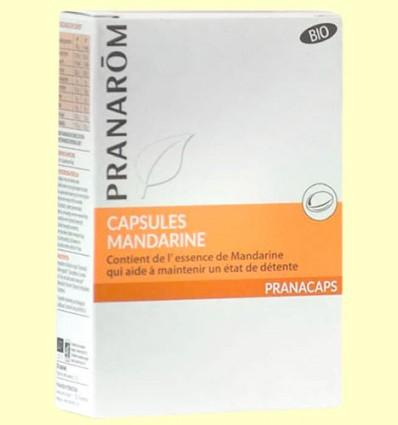 Cápsulas de Mandarina - Pranarom - 30 cápsulas