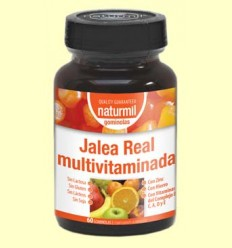 Jalea Real Multivitaminada - Naturmil - 60 gominolas