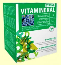 Vitamineral Strong - Dietmed - 15 ampollas