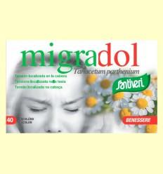 Migradol - Dolor de cabeza - Santiveri - 40 cápsulas