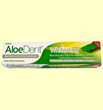Aloe Dent - Dentífrico Blanqueador Aloe Vera - Optima - 100 ml