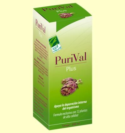 PuriVal Plus - Depurativo - 100% Natural - 200 ml