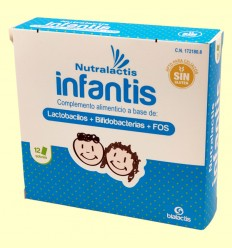 Nutralactis Infantis - Bialactis - 12 sobres