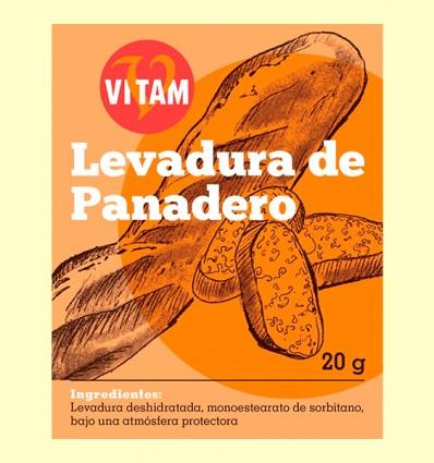 Levadura de Panadero - Vitam - 20 gramos