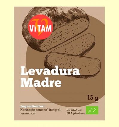 Levadura Madre Bio - Vitam - 15 gramos