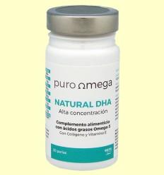 Natural DHA Alta Concentración - Puro Omega - 20 perlas