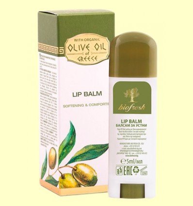 Bálsamo Labial - Lip Balm - Olive Oil of Greece - Biofresh - 5 ml