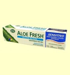 Dentífrico Gel Aloe Fresh Sensitivo - Laboratorios ESI - 100 ml
