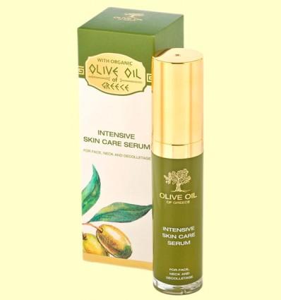 Suero de Cuidado Intensivo - Cara, cuello y escote - Olive Oil of Greece - Biofresh - 30 ml