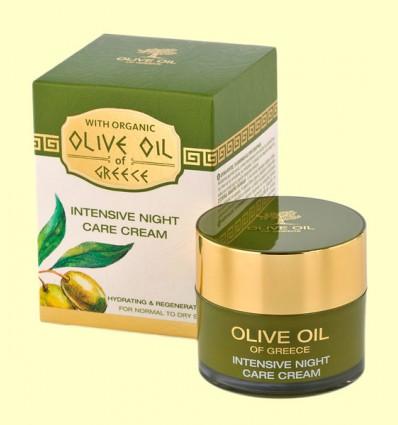 Crema de Noche Cuidado Intensivo - Olive Oil of Greece - Biofresh - 50 ml