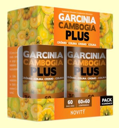 Garcinia Cambogia Plus Pack Económico - Apetito - Novity - 120 comprimidos
