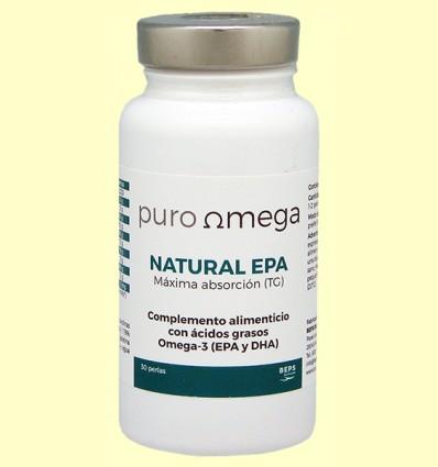 Natural EPA Máxima absorción - Puro Omega - 30 perlas