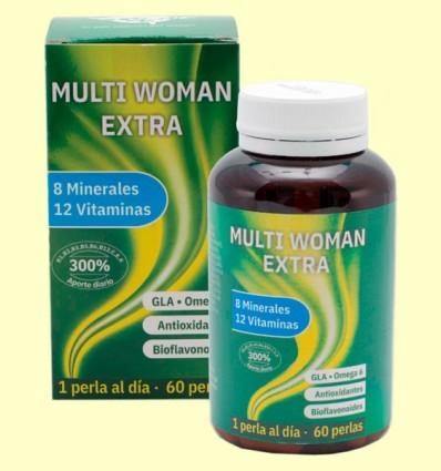 MultiWoman Extra - Complejo Vitamínico - Espadiet - 60 perlas