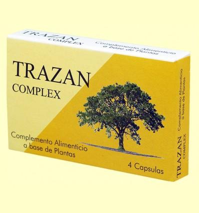 Trazan Complex - Casapia - 4 cápsulas