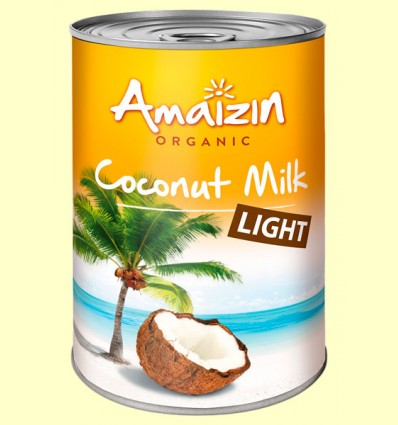 Leche de Coco Light Bio - Amaizin - 400 ml