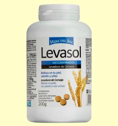 Levasol - Levadura de cerveza - Ynsadiet - 500 comprimidos