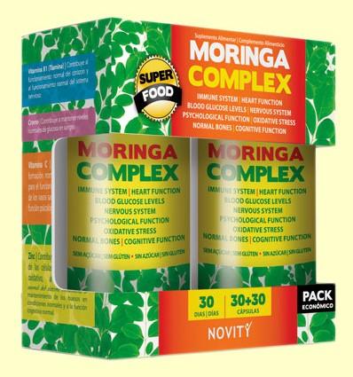 Moringa Complex - Novity - 30 + 30 cápsulas