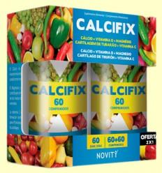 Calcifix - Novity - 30 + 30 comprimidos