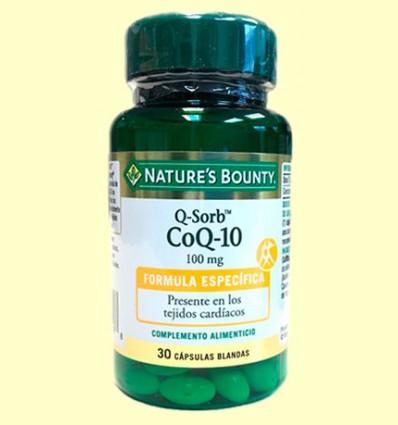Q-Sorb CoQ-10 100 mg - Nature's Bounty - 30 cápsulas