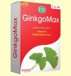 GinkgoMax - Laboratorios ESI - 30 tabletas