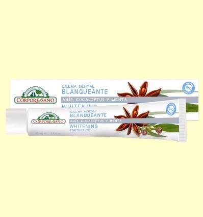 Crema Dental Blanqueante Bio - Corpore Sano - 75 ml
