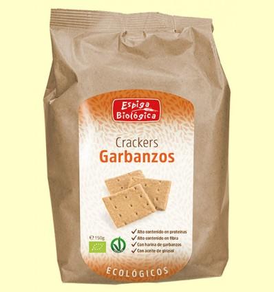 Crackers Garbanzos Eco - Espiga Biológica - 150 gramos
