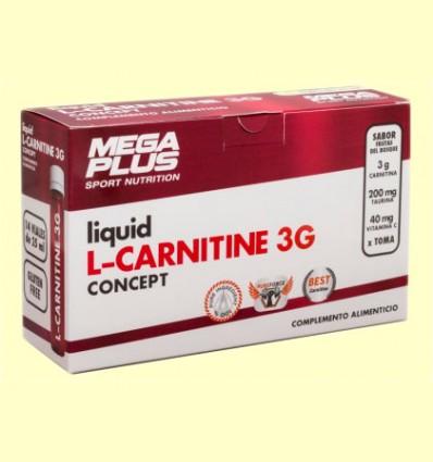 L-Carnitina Liquida Concept - Mega Plus - 14 ampollas