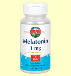 Melatonin - Melatonina - Laboratorios KAL - 120 comprimidos