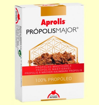 Aprolis Própolis Major - Própolis Puro Masticable - Intersa - 10 gramos