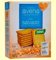 Galletas de Avena con Salvado - Santiveri - 520 gramos