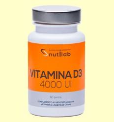 Vitamina D3 4000 UI - Nutilab - 60 perlas