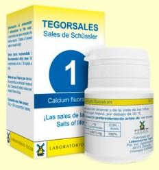 Tegorsal Nº 1 Calcium Fluoratum - Fluoruro de Calcio - Laboratorios Tegor - 350 comprimidos