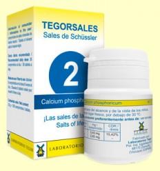 Tegorsal Nº 2 Calcium Phosphoricum - Glicerofosfato de Calcio - Laboratorios Tegor - 350 comprimidos