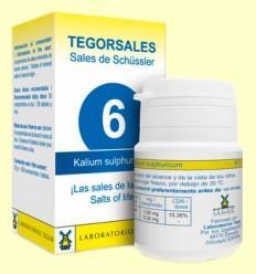 Tegorsal Nº 6 Kalium Sulphuricum - Sulfato de Potasio - Laboratorios Tegor - 350 comprimidos