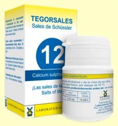Tegorsal Nº 12 Calcium Sulphuricum - Laboratorios Tegor - 350 comprimidos