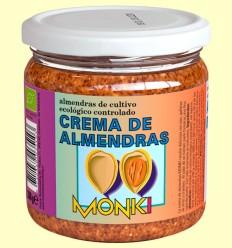 Crema de Almendras Bio - Monki - 330 gramos