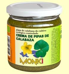 Crema de Semillas de Calabaza Bio - Monki - 330 gramos
