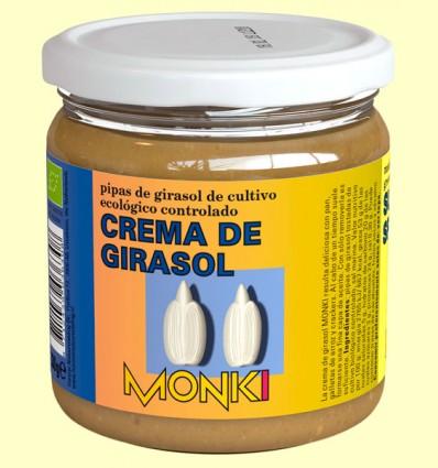 Crema de Girasol Bio - Monki - 330 gramos