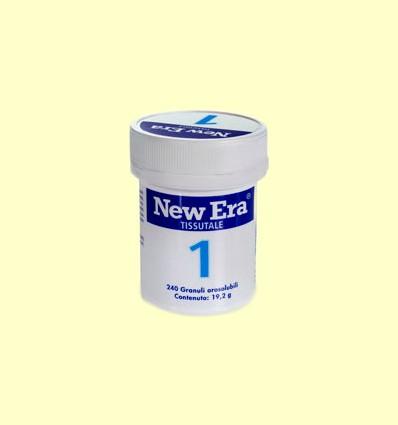 Sal de Schüssler Nº1 - Fluoruro de Calcio - New Era - 240 comprimidos