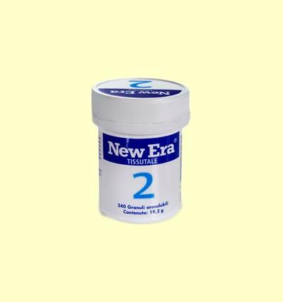 Sal de Schüssler Nº2 - Fosfato de Calcio - New Era - 240 comprimidos