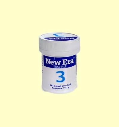 Sal de Schüssler Nº3 - Fosfato de Hierro - New Era - 240 comprimidos