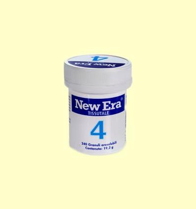 Sal de Schüssler Nº4 - Cloruro de Potasio - New Era - 240 comprimidos