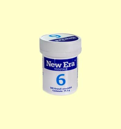 Sal de Schüssler Nº6 - Sulfato de Potasio - New Era - 240 comprimidos