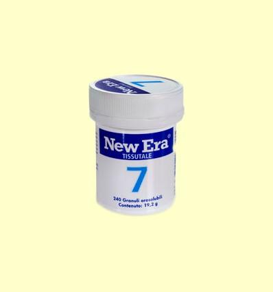 Sal de Schüssler Nº7 - Fosfato de Magnesio - New Era - 240 comprimidos