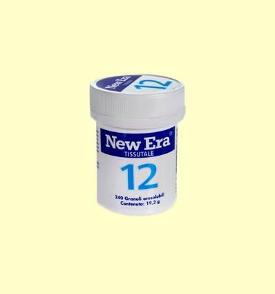 Sal de Schüssler Nº12 Sulfato de Calcio - New Era - 240 comprimidos