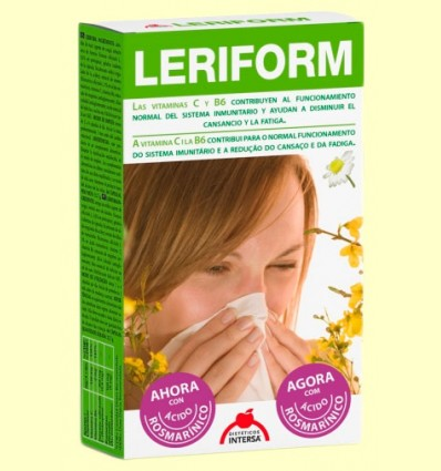Leriform - Sistema Inmunitario - Intersa - 60 cápsulas