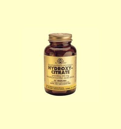 Hidroxicitrato (HCA) de Ácido hidroxicítrico 250 mg - Solgar - 60 comprimidos