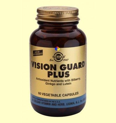 Vision Guard Plus - Salud para los ojos - Solgar - 60 cápsulas *