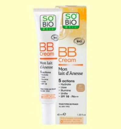 BB Cream Bio Mon Lait D'Anesse - So'Bio êtic - 40 ml