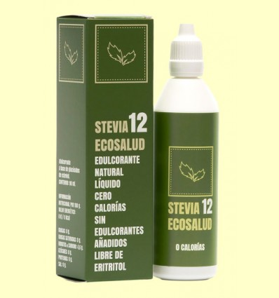 Stevia 12 - Stevia Ecosalud - 90 ml